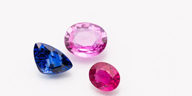 ルビー・サファイヤ Ruby Sapphire Corundum